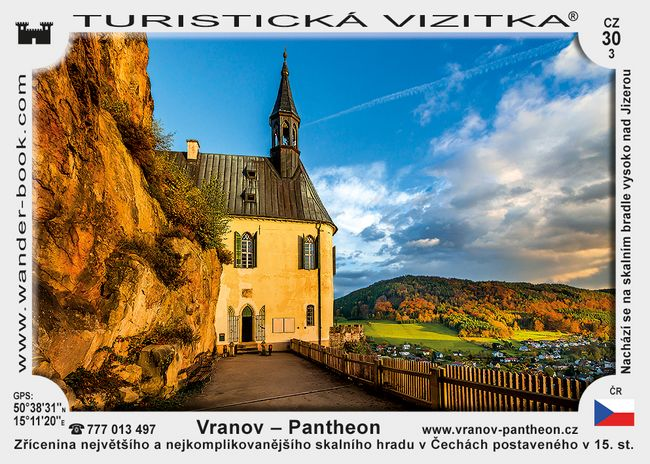 Hrad Vranov - Pantheon