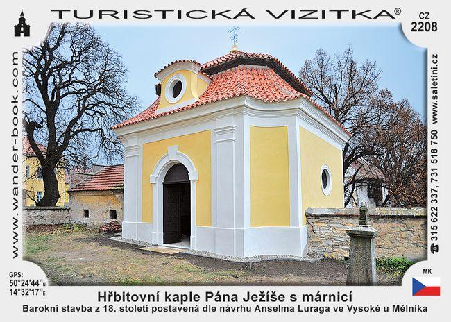 Hřbitovní kaple Pána Ježíše s márnicí