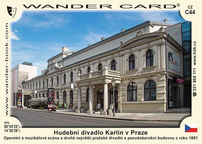 Hudební divadlo Karlín v Praze