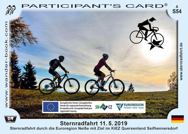 Hvězdicová cyklojízda / Sternradfahrt 2019