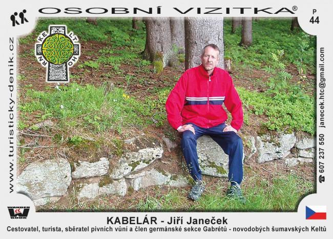 Janeček Jiří - Kabelár