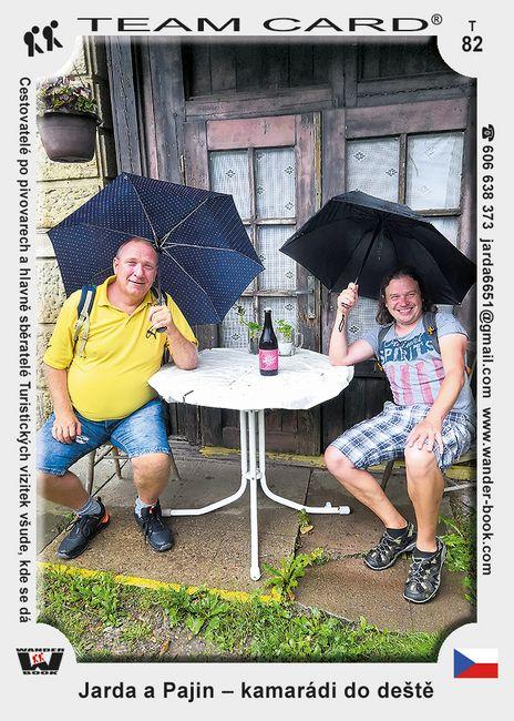 Jarda a Pajin – kamarádi do deště