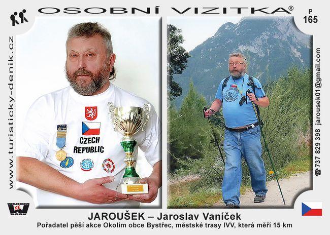 Jaroušek - Jaroslav Vaníček