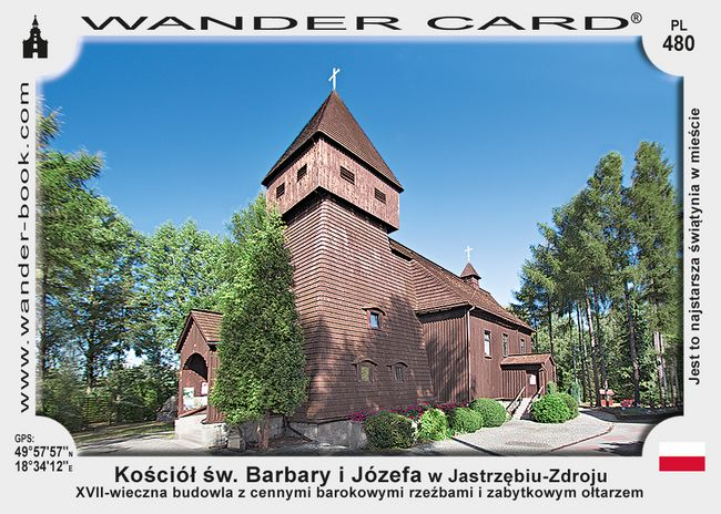 Jastrzębie-Zdrój kościół drewniany