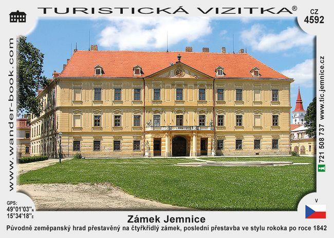 Jemnice zámek