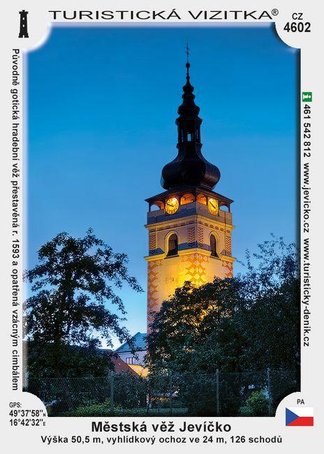 Jevíčko věž