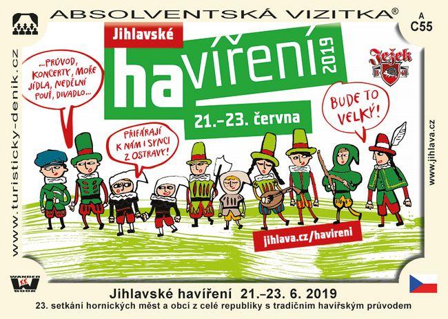 Jihlavské havíření  21.–23. 6. 2019
