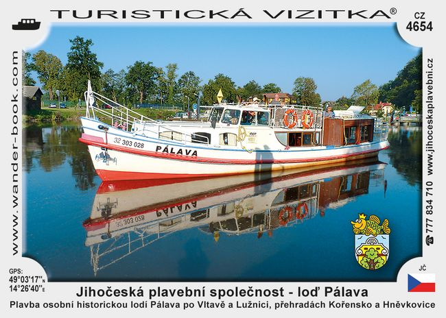 Jihočeská plavební loď Pálava