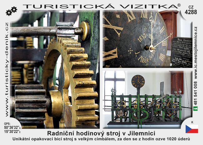 Radniční hodinový stroj v Jilemnici