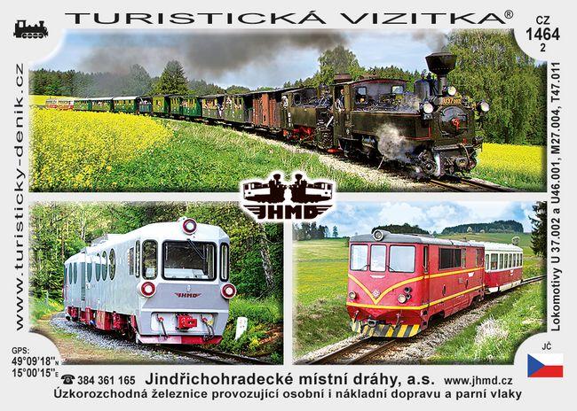 Jindřichohr. místní dráhy, a.s.