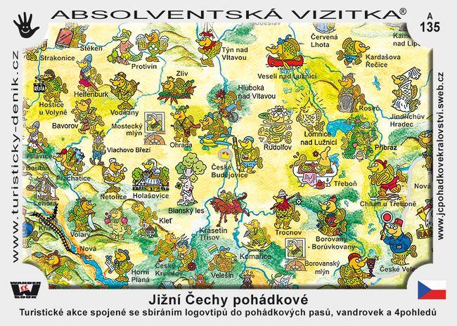 Šumava a jižní Čechy pohádkové