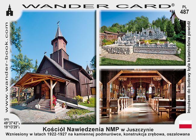 Juszczyna kościół drewniany