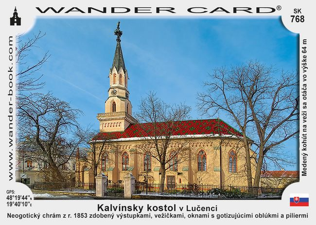 Kalvínsky kostol v Lučenci