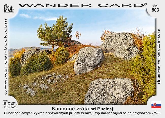 Kamenné vráta pri Budinej