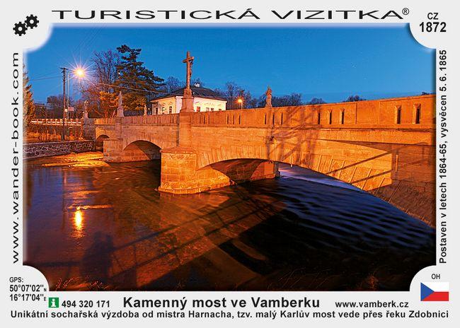 Kamenný most ve Vamberku