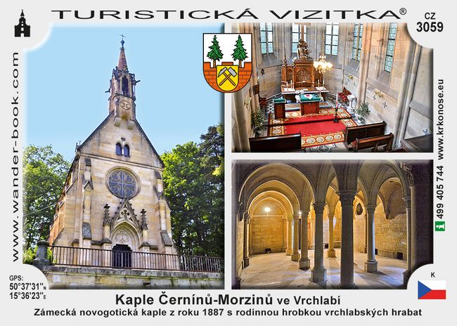 Kaple Černínů - Morzinů ve Vrchlabí