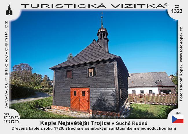 Kaple Nejsvětejší Trojice Suchá Rudná