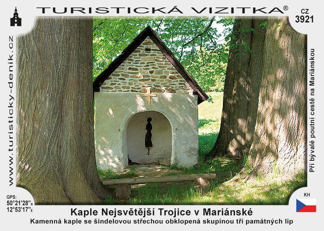 Kaple Nejsvětější trojice v Mariánské
