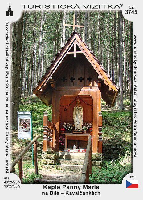 Kaple P. Marie na Bílé - Kavalčankách