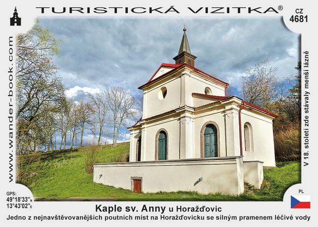 Kaple sv. Anny u Horažďovic