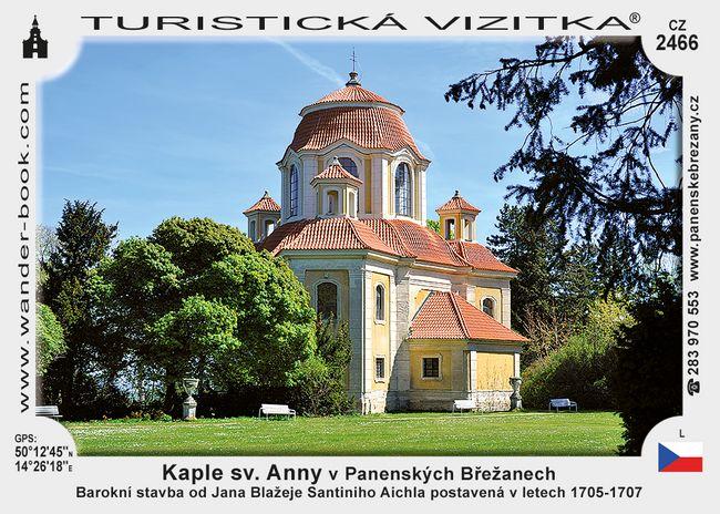 Kaple sv. Anny v Panenských Břežanech