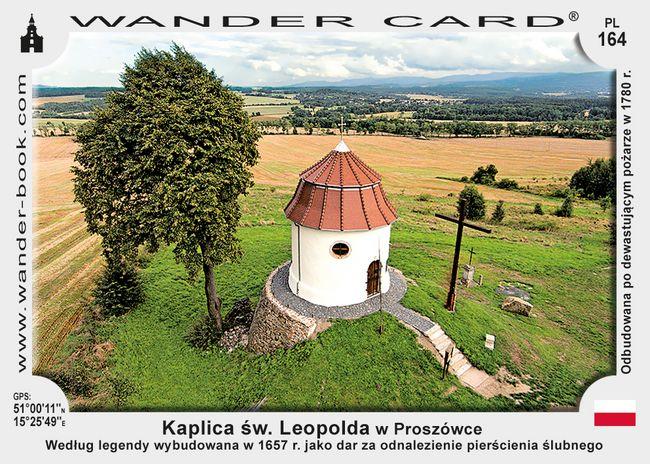 Kaplica św. Leopolda w Proszówce