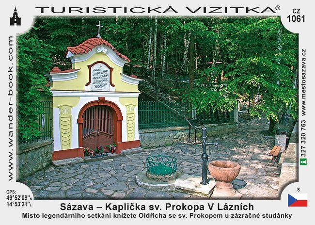 Kaplička sv. Prokopa V Lázních u Sázavy