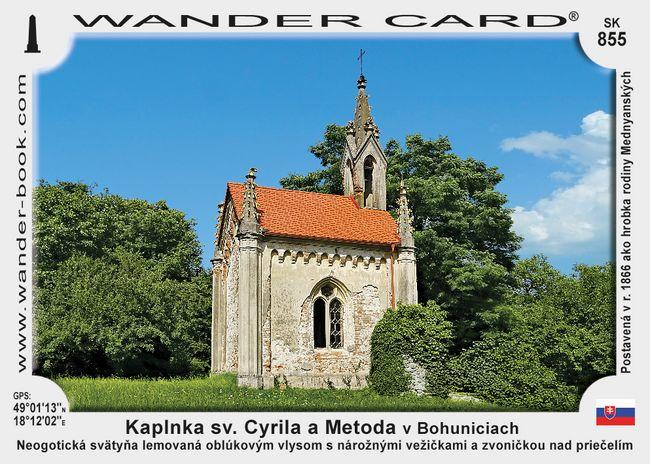 Kaplnka r. k. sv. Cyrila a Metoda v Bohuniciach
