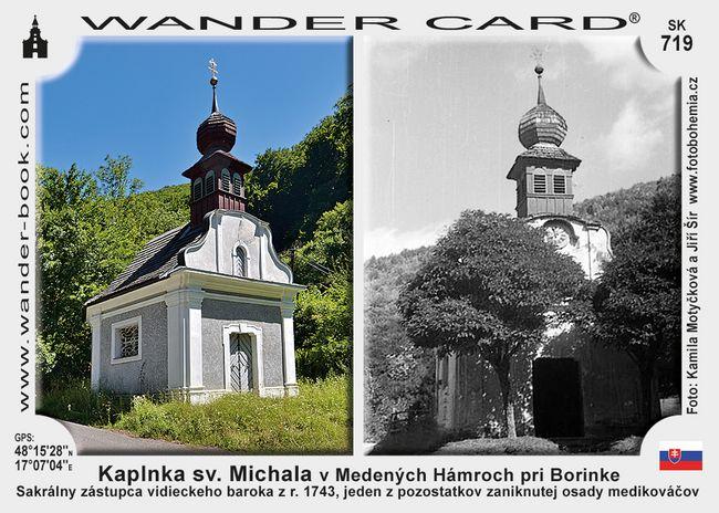 Kaplnka sv. Michala v Medených Hámroch pri Borinke