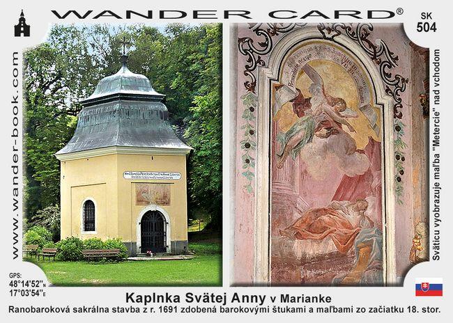 Kaplnka Svätej Anny v Marianke