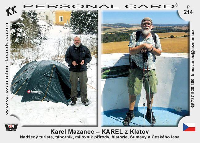 Karel Mazanec – KAREL z Klatov