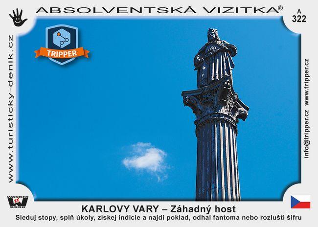 TRIPPER Karlovy Vary – Záhadný host