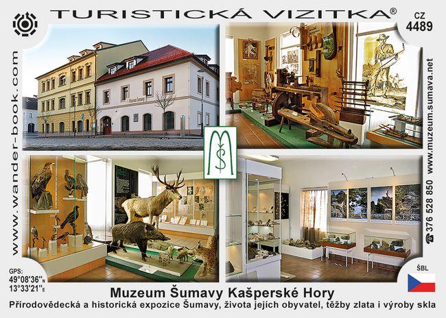 Kašperské Hory Muzeum Šumavy