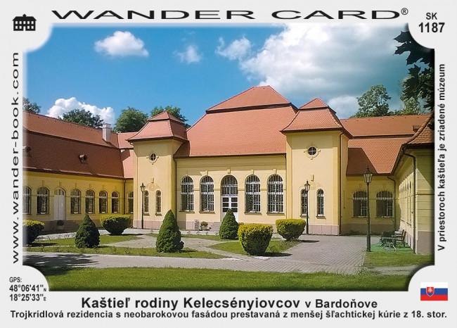 Kaštieľ rodiny Kelecsényiovcov v Bardoňove