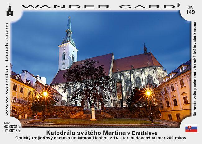 Katedrála svätého Martina v Bratislave