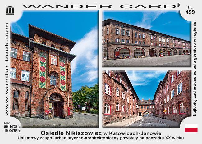 Katowice Nikiszowiec osiedle