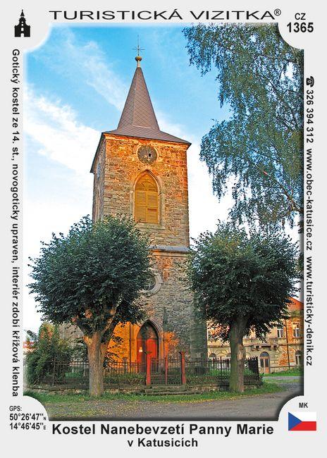 Kostel Nanebevzetí Panny Marie v Katusicích