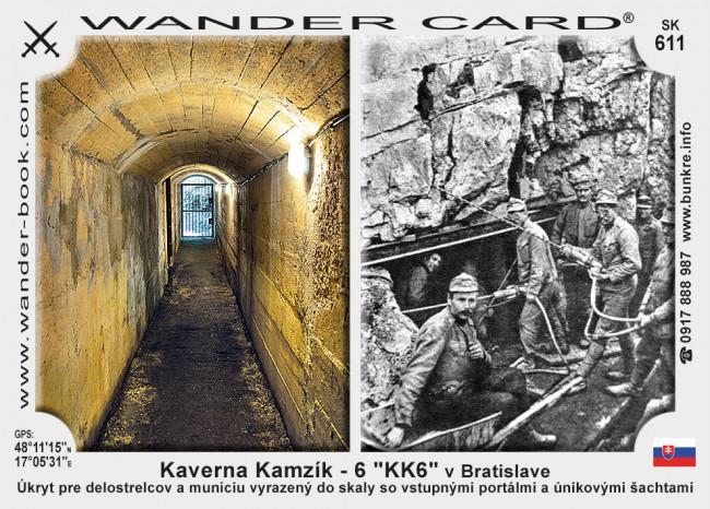 """Kaverna Kamzík – 6 """"KK6"""" v Bratislave"""