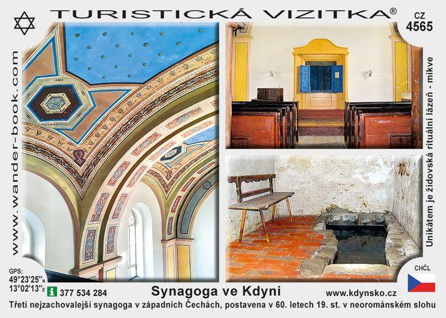 Kdyně synagoga