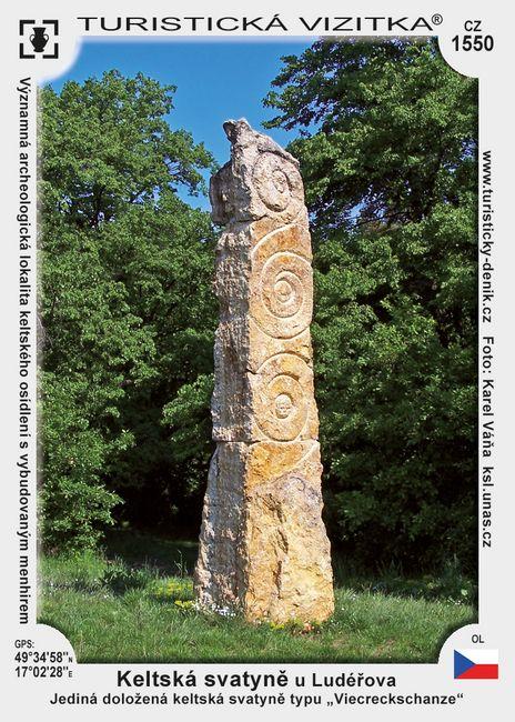 Keltská svatyně u Ludéřova