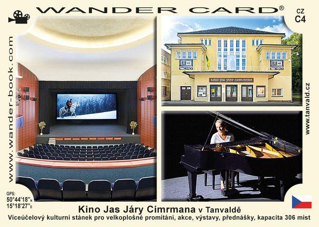 Kino Jas Járy Cimrmana v Tanvaldě