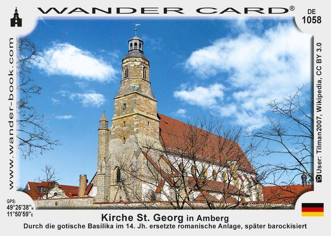 Kirche St. Georg in Amberg