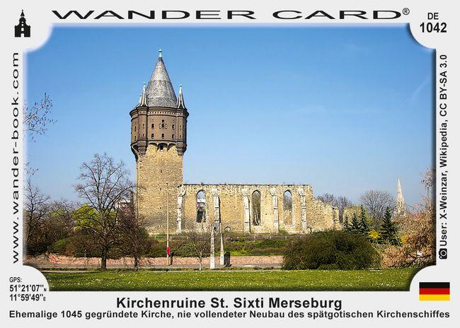 Kirchenruine St. Sixti Merseburg