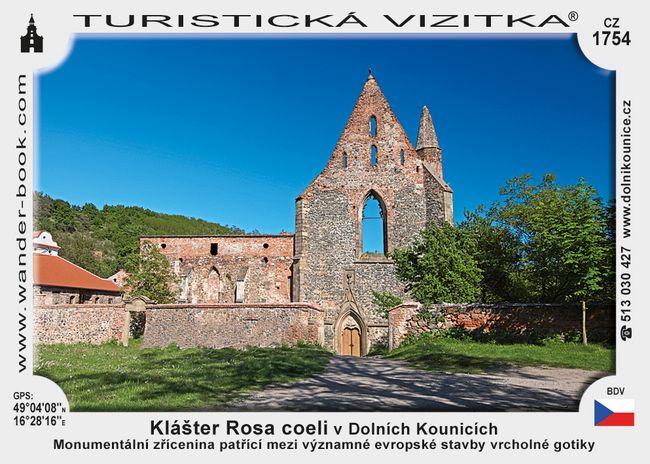 Klášter Rosa Coeli v Dolních Kounicích