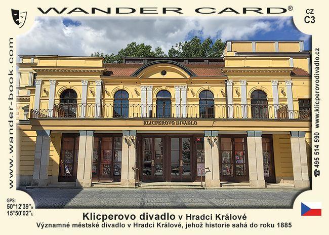 Klicperovo divadlo v Hradci Králové