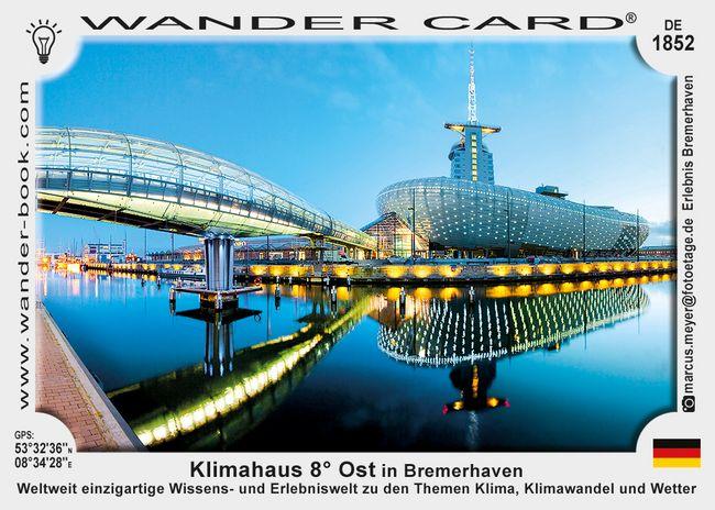 Klimahaus 8° Ost in Bremerhaven