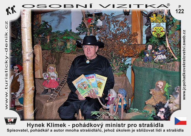 Hynek Klimek – pohádkový ministr pro strašidla
