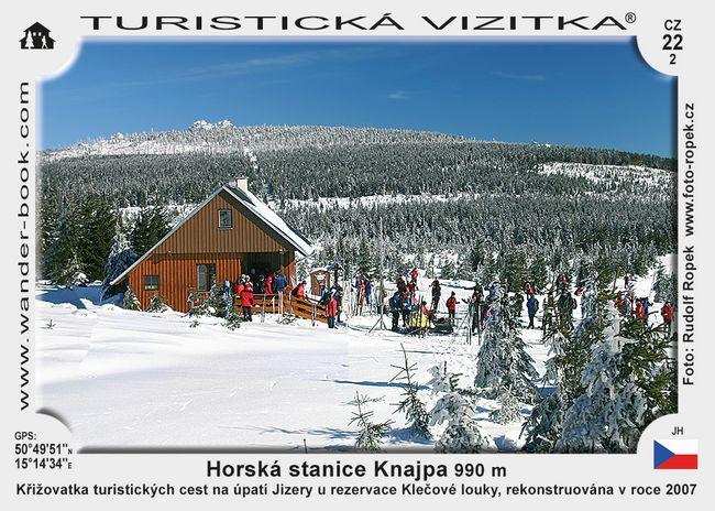 Knajpa horská stanice