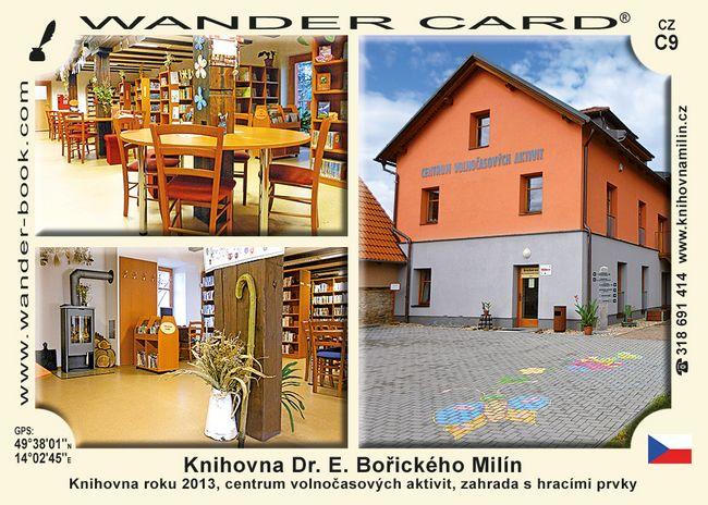 Knihovna Dr. E. Bořického Milín