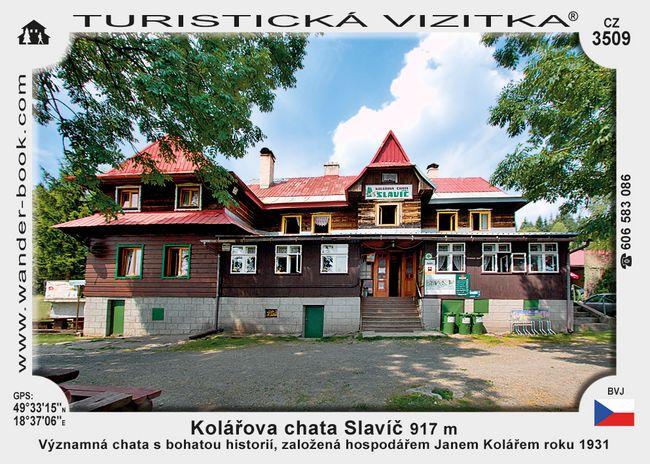 Kolářova chata Slavíč
